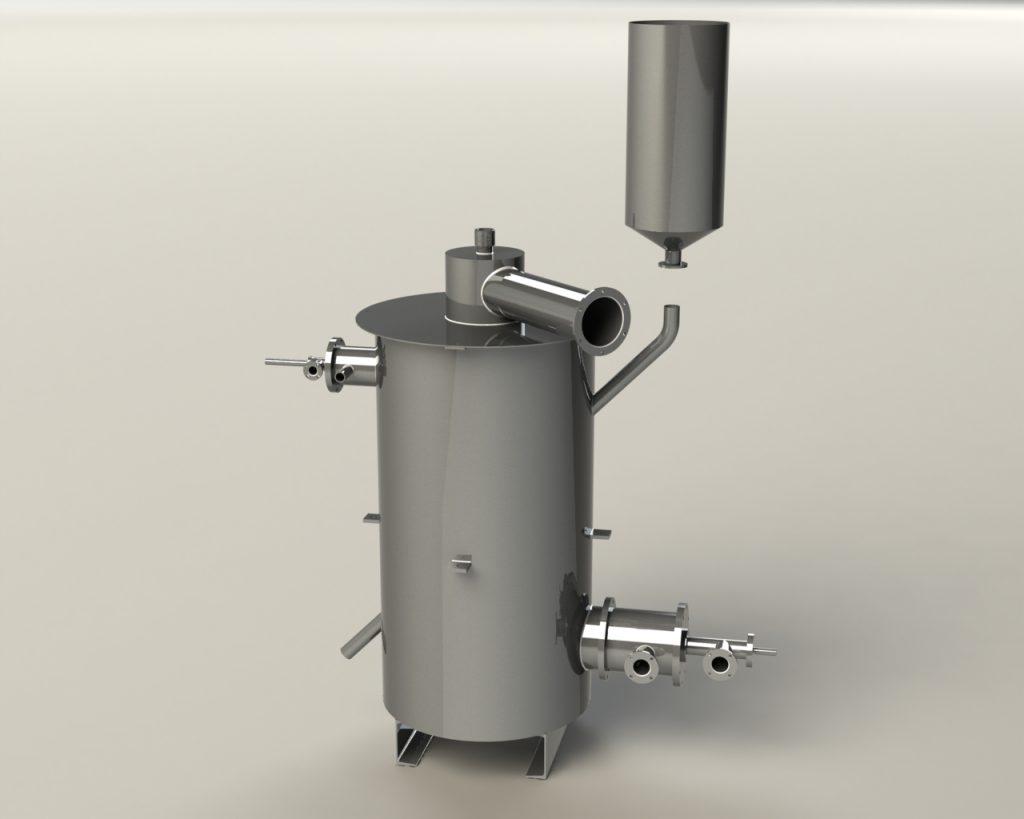 Промышленный дизайн установки