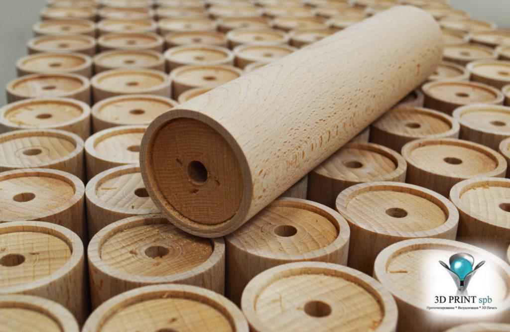 Токарные работы, изготовление деталей из дерева