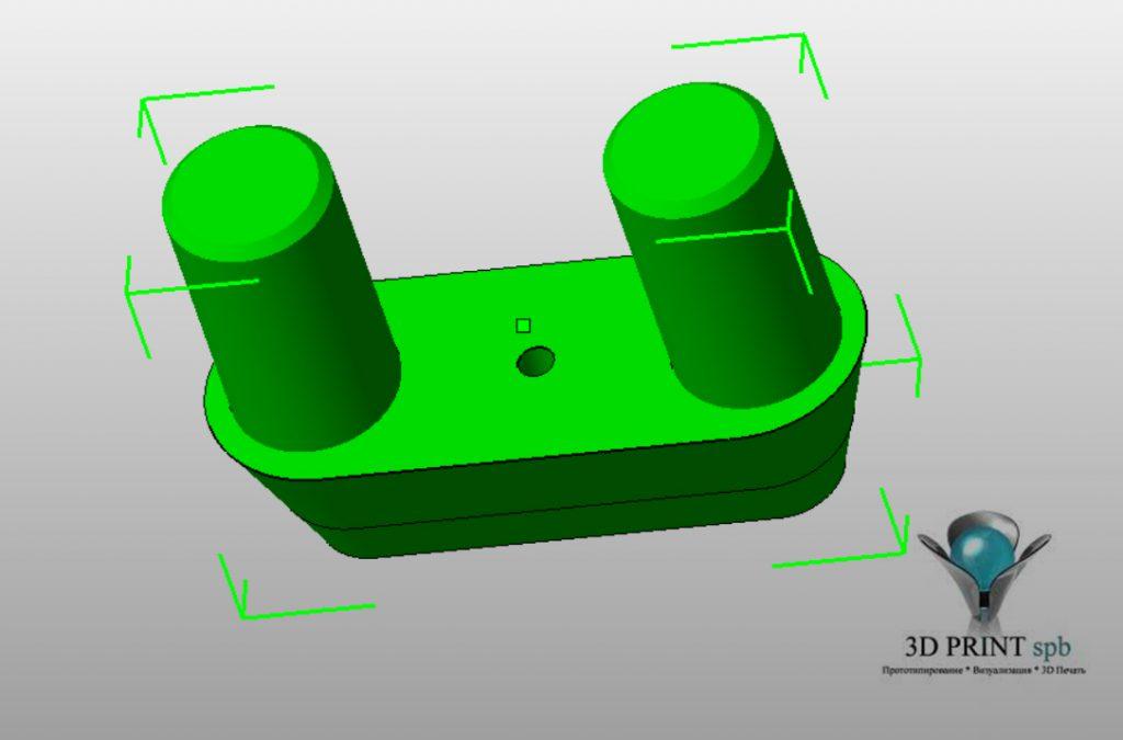 3D-модель детали