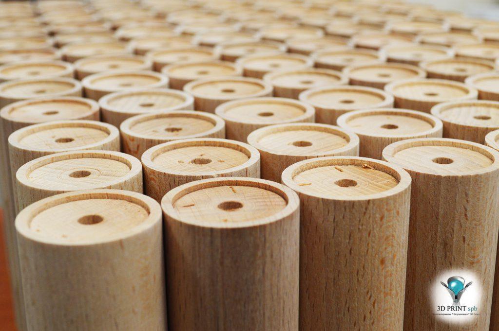 Токарные детали из дерева